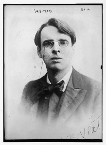 WB Yeats. Image from US Library of Congress,  file LC-DIG-ggbain-00731